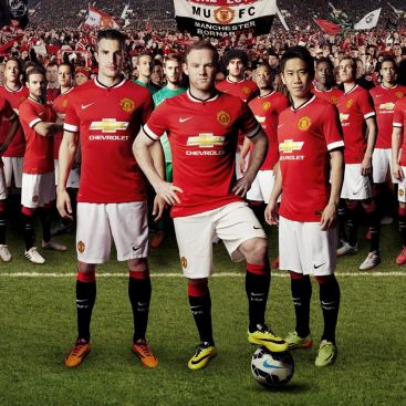 2014-2015 Manchester United shirt