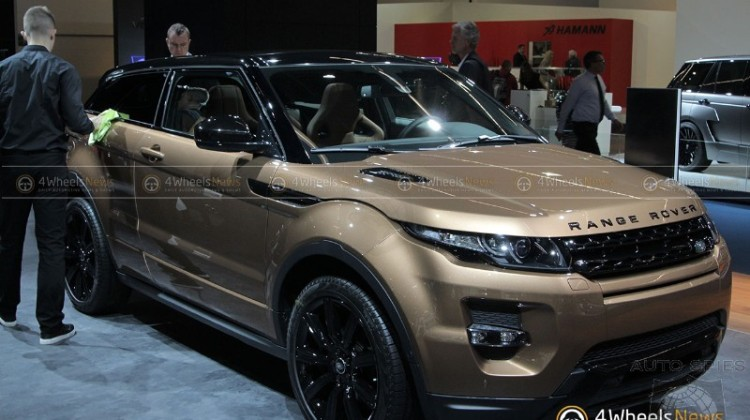 2016 Model Year Range Rover Evoque
