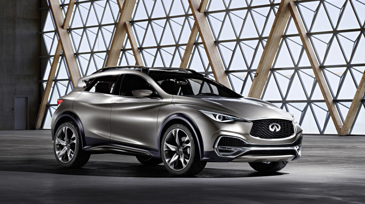 Stylish and Capable Infiniti QX30