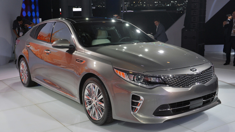 2016 Kia Optima builds on third-gen cars