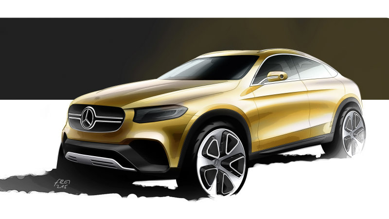 Mercedes previews GLC