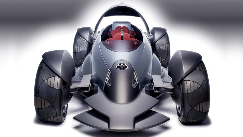 Toyota Wheel Sports Car Concept