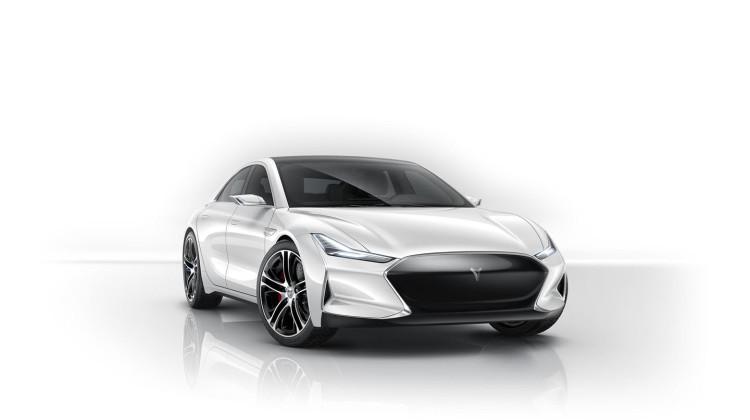 Chinese Tesla Model S