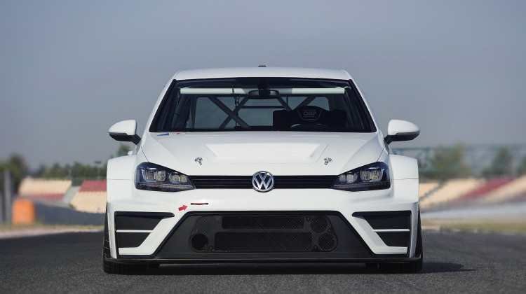 Volkswagen Motorsport Golf car
