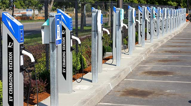 Airport Installs 42 PowerPost EV Charging Stations