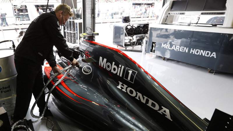 Honda revamps F1 engine