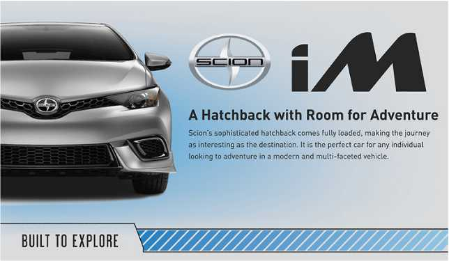 new Scion iM