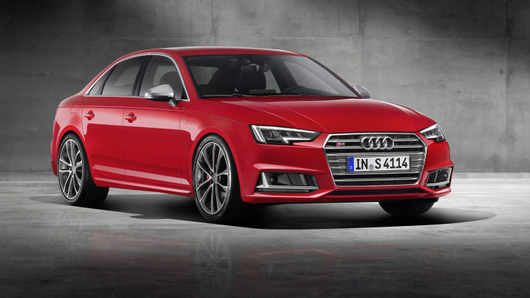 2017 Audi S4 switches