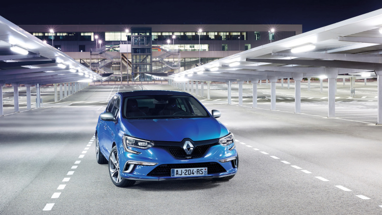 all-new Megane to Frankfurt
