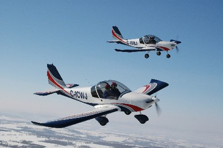 typical flying school