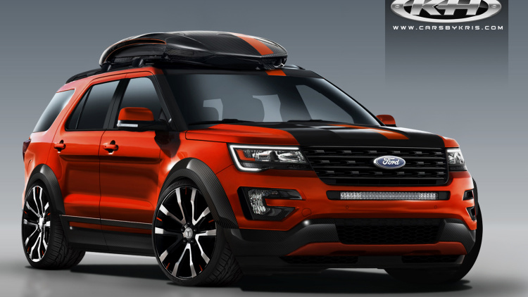 Ford Explorer goes sporty