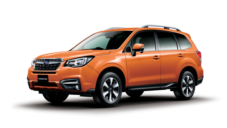 Subaru Forester gets facelift for Japan