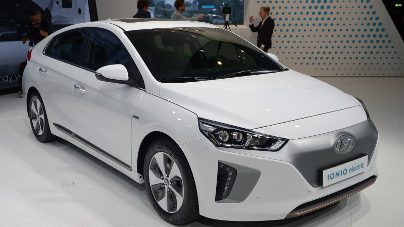 The 2017 Hyundai Ioniq