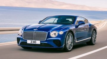 New Bentley GT Is 626 Horsepower