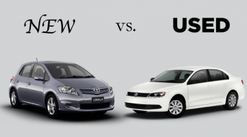 New cars vs. used cars