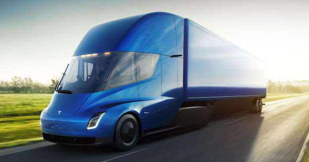 Tesla All-Electric Truck
