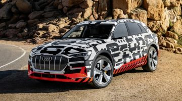 The Audi e-tron prototype