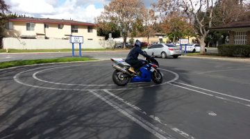 Motorcycle Driving Test