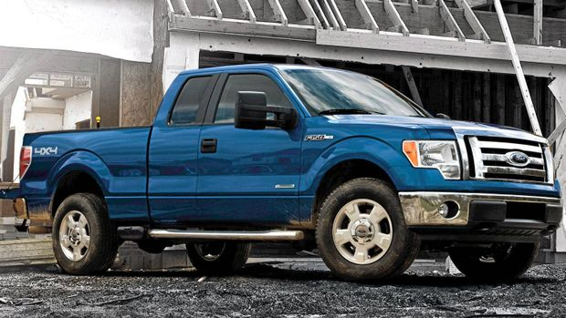 Ford Recalling 1.26 Million F-150