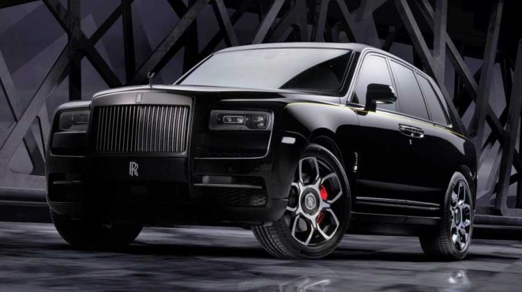 The Cullinan Black Badge