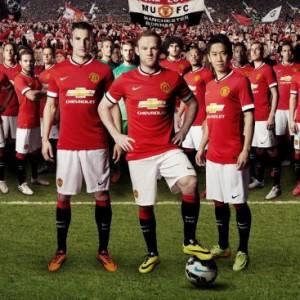 2014-2015 Manchester United shirt