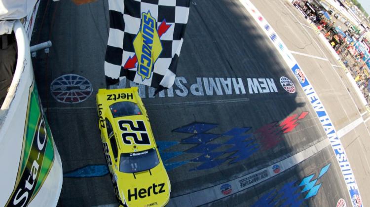Brad-Keselowski-Puts-Mustang-in-Victory-Lane