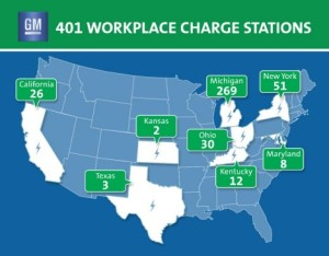 GM Charging Stations