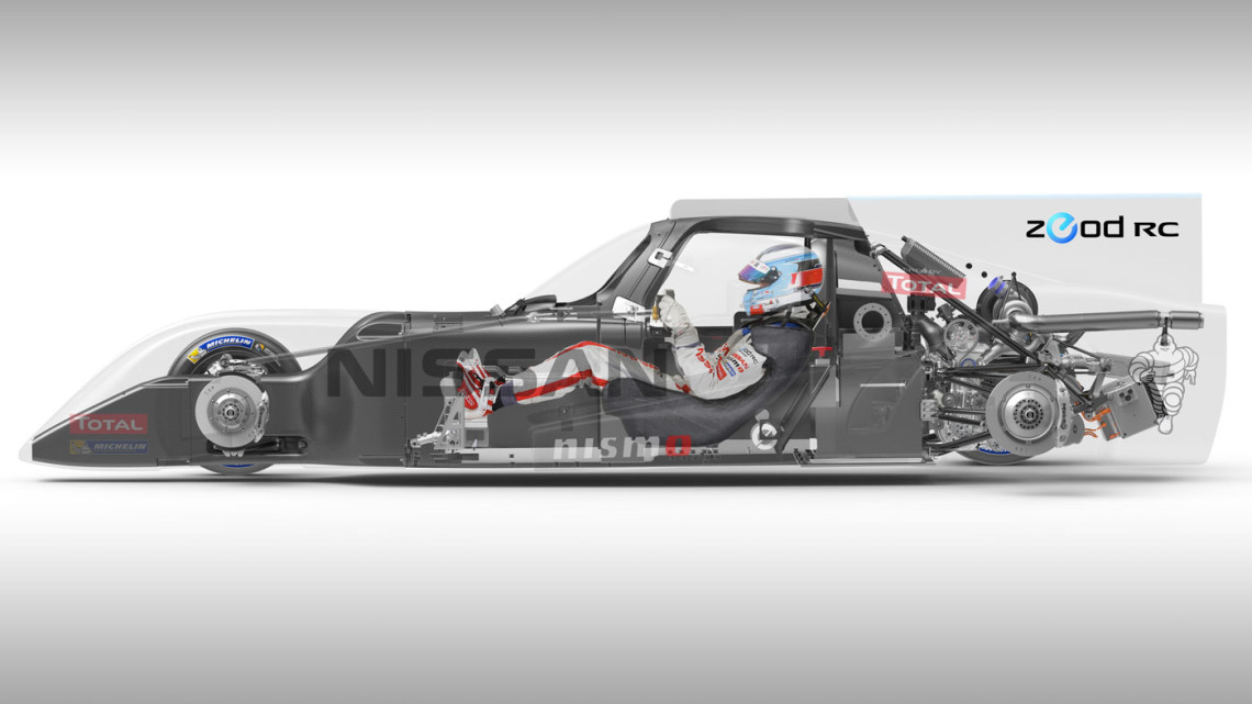 The Skin Of The Nissan ZEOD RC