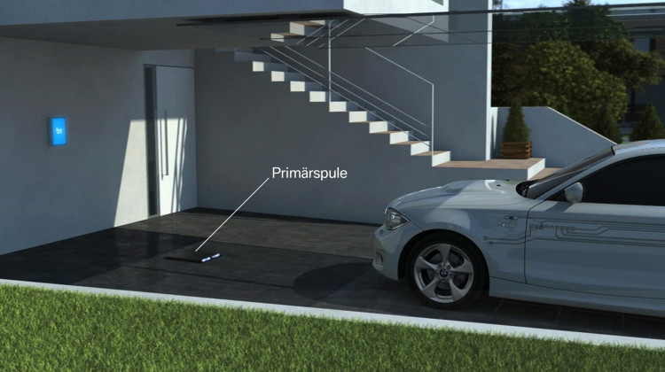 Wireless Charging Of Electric Drive