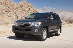 2013 - 2015 Toyota Land Cruiser