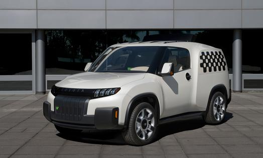 Toyota U-squared Urban Utility Concept Vehicle