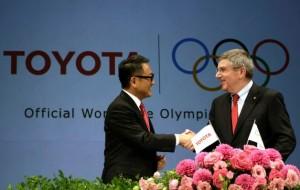 Toyota Becomes IOC TOP Partner