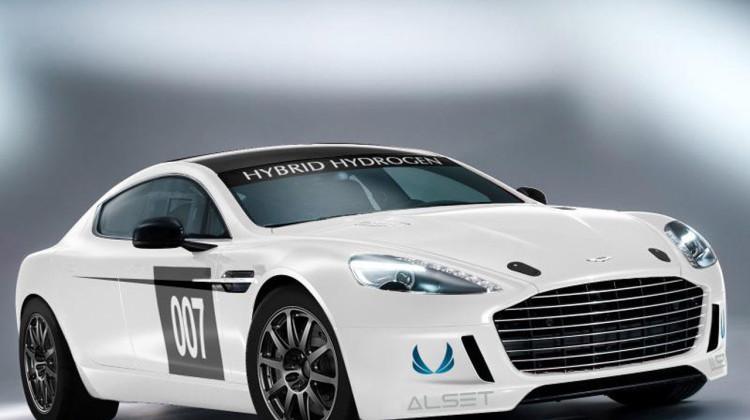Electric Aston Martin Rapide