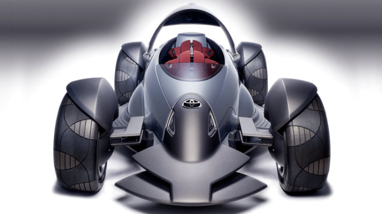 Toyota Wheel Sports Car Concept
