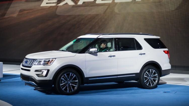 New 2016 Ford Explorer