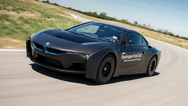 The Hydrogen BMW i8