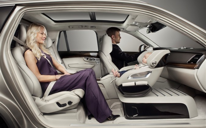 Volvo Luxury With Excellence Child Seat