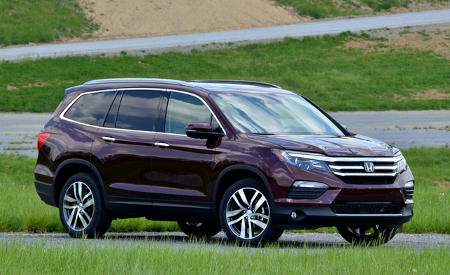 2016 honda pilot earns iihs top safety pick score autoizer auto news and blog. Black Bedroom Furniture Sets. Home Design Ideas
