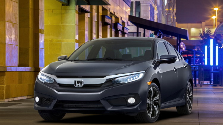 2016 Honda Civic colors