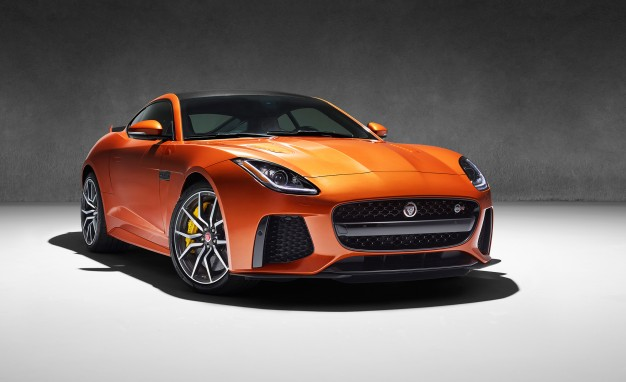 The 2017 Jaguar F-Type SVR