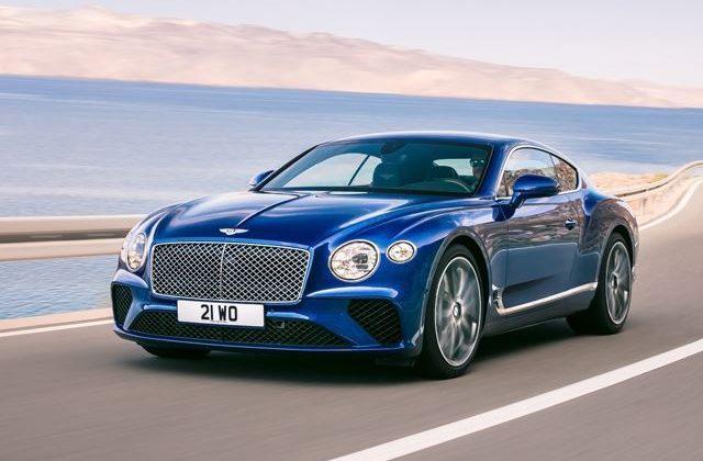 New Bentley GT Is 626 Horsepower