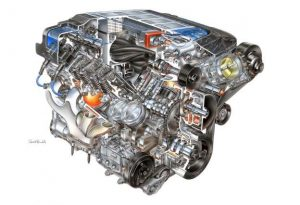 New 755hp LT5 Powerhouse