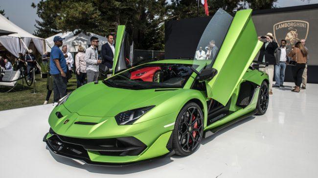Lamborghini Aventador Svj Is A V12 Powered Carbon Fiber