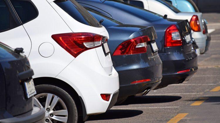 Parking Lot Accident